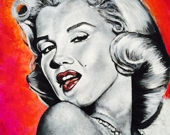 ART PRINT 'Marilyn Monroe'