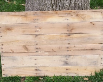 """Blank Reclaimed Wood Pallet Sign/Plaque- 20"""" x 30"""""""