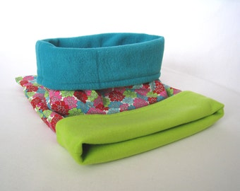Small - Reversible Cuddle Sack by Paw Lane - Puppy Bed - Burrow Dog Bed - Snuggle Sack - Dachshund Bed - Chihuahua Bed - Cat Snuggle Bag