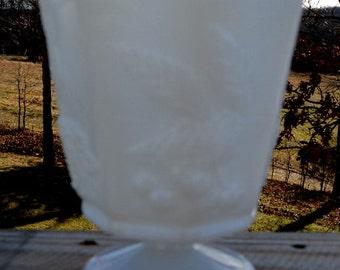 SALE - 1950's Napco USA 1186 Milk Glass Vase / Compote