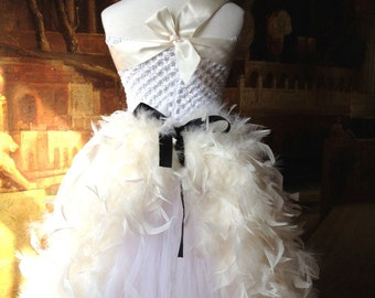 Deluxe Feather Tutu Dress