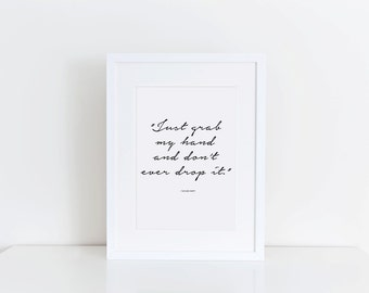 Taylor Swift Quote - Digital Download