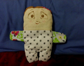 Miss Pippett; adorable.  handmade softie, she has a story to share too!