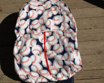 Baseball Infant Car Seat Cover