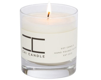 Soy Candle French Vanilla & Amber Candle Soy