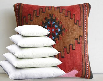 24x24 Pillow Insert 24x24 Pillow Filling 24X24 Pillow Stuffing 24X24 Pillow Filler 24x24 for Decorative Throw Pillows Accent Kilim Pillows
