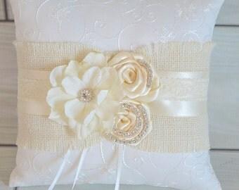 Made to Match Ring Bearer Pillow