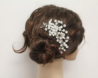 Wedding hair comb bridal hair comb bridal comb bridal hair accessory bridal headpiece bridal hairpiece bridal hair jewelry bridal accessory