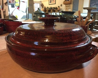 Large Lidded Casserole