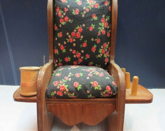 Rocking Chair Pin Cushion Sewing Caddy One Available