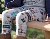 Southwestern Leggings.Baby and Toddler Leggings.Geometric Leggings.Kids and Babies. Leg warmers.Winter leggings