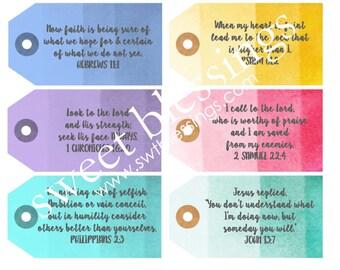Encouragement Scripture Cards Set #2