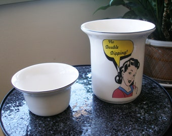 Vintage CERAMIC DISH CHILLER Bowl from County Home Creations