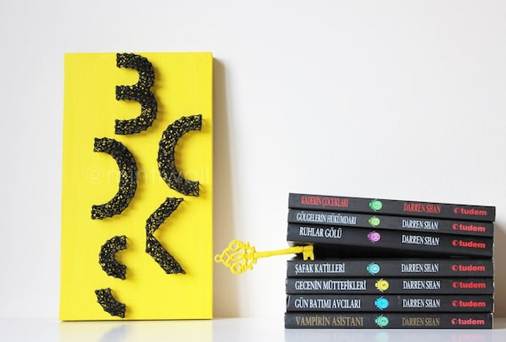 Books String Art - Books Wall Decor - Books String Wall Art Lettering