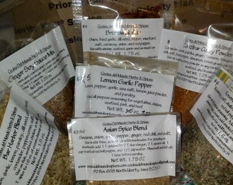 Seasonings for Fish & Seafood Gift Box