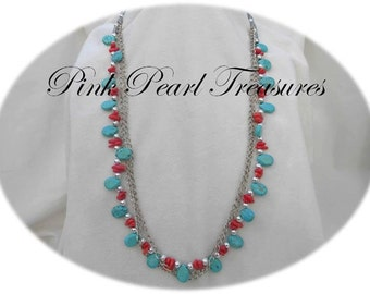 Native Beauty stranded necklace