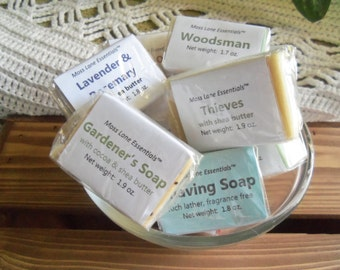 Trial Size Cold Process Soap Bars