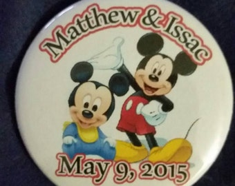 Personalized buttons for your special events, personalized buttons Buttons for favors ,pin on in on favor ,Buttons with pictures on it