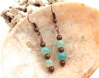Land and Sea Earrings