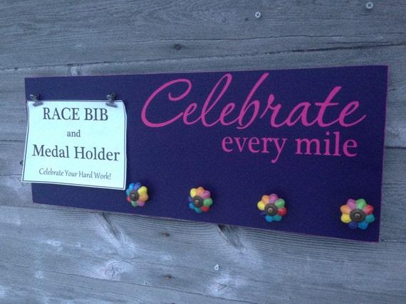 Race Medal Holder Race Bib Running Medal Holder