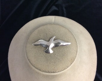 Vintage Silvertone Bird In Flight Pin