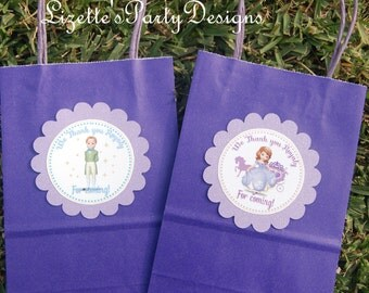 Sofia the First, Goodie bag, Tags, 10ct.
