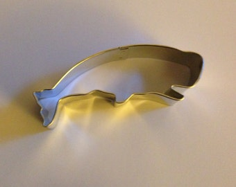 """4"""" Jumping Whale Cookie Cutter"""