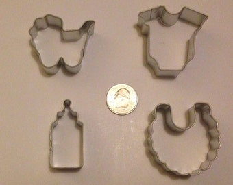 Mini Baby Shower Cookie Cutter Set