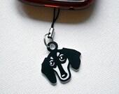 Dachshund Dog pendant, tag, charms, keychain