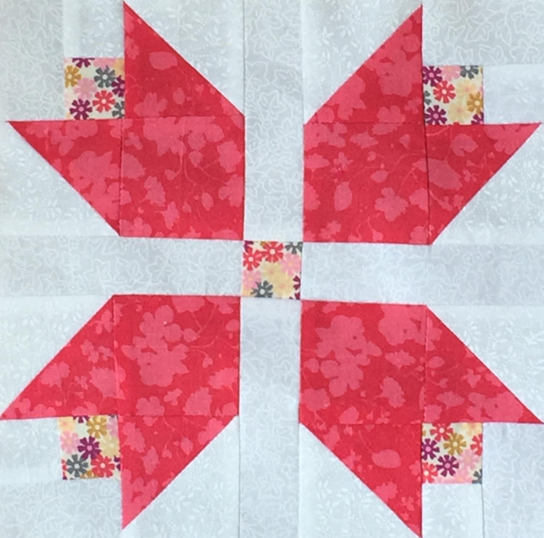 Beautiful 12 Tulip Garden Quilt Pre Cut Block Kits Lk