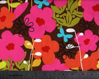 Shadow Flower French Bull by Cotton Fabric by Windham Fabrics BTY #535