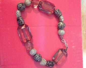 Glitter Bead Bracelet