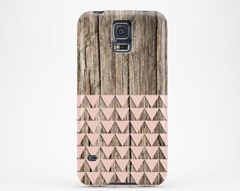 Galaxy Note 4 case Samsung galaxy s5 case Geometric Samsung galaxy s6 case Wood Samsung galaxy s4 case Pink Samsung galaxy s3 case, cute