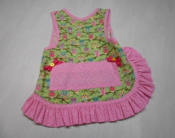 Girls Slip on Apron fits 2 to 4 yrs