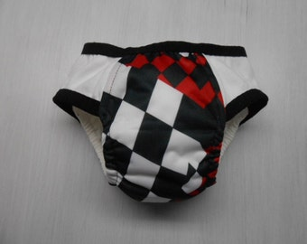 Boys adjustable Cloth Training Pants sz med adjusts to small