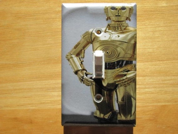 C 3po Star Wars Light Switch Plate Cover By Photosbyben On