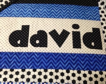 Custom Made Baby Quilt with Name