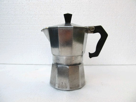 Antique Italian Coffee Maker : ITALIAN COFFEE MAKER, Coffee Pot, Coffee Percolator, Moka Espress, Coffee Maker, Coffee, Coffee ...
