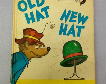 Old Hat New Hat by Stan and Jan Berenstain Picture Book AntikaGarage