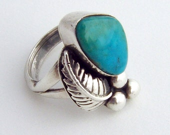 Crysicola Blossom Ring 1970 Sterling Silver
