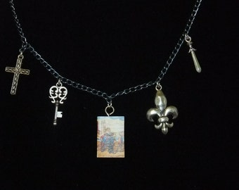 Three Musketeers Book Necklace - Great Gift for Book Lovers!