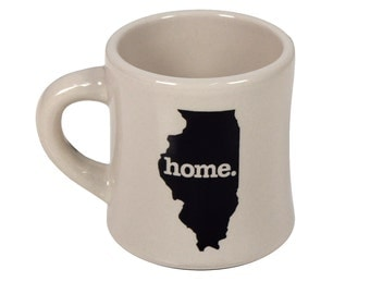 Illinois home. Ceramic Coffee Mug
