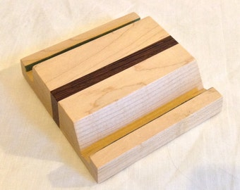 iPad / Tablet Stand in Maple & Wenge