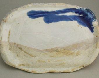 Stoneware Ceramic Platter