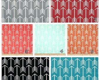 The Original Pouf Floor Cushion - CHOOSE your own Arrow fabric