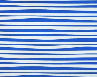 Alexander Henry - Stockade Stripe -  Blue