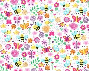 Michael Miller - Busy Bee - Pink