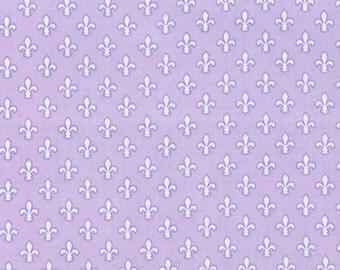 Michael Miller - Petite Fleur de Lis Item #CX6556-PURP-D