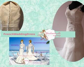I want a unique custom made wedding dress!!