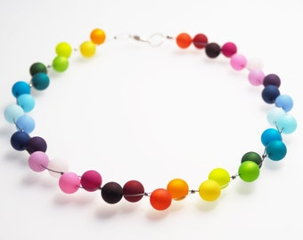 rainbow necklace polaris colorful
